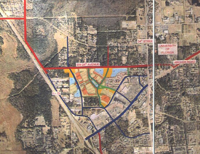 Butler Plaza North map